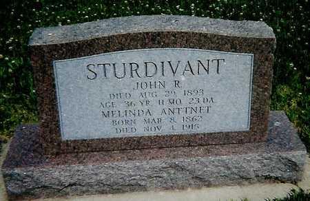 STURDIVANT, JOHN R. - Boone County, Iowa | JOHN R. STURDIVANT