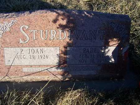 STURDIVANT, PAUL L. - Boone County, Iowa | PAUL L. STURDIVANT
