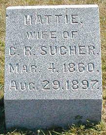 SUCHER, HATTIE - Boone County, Iowa | HATTIE SUCHER