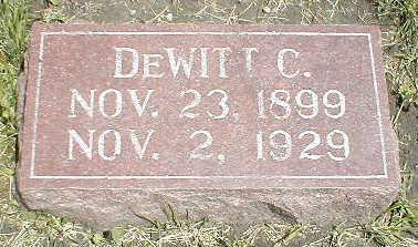 SWAIN, DEWITT C. - Boone County, Iowa | DEWITT C. SWAIN