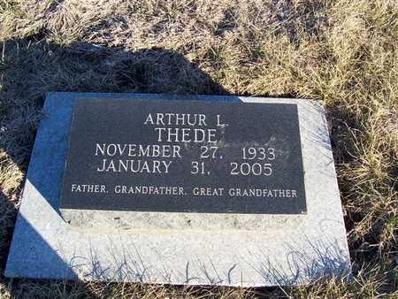 THEDE, ARTHUR L. - Boone County, Iowa   ARTHUR L. THEDE