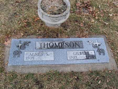 THOMPSON, AGNES - Boone County, Iowa | AGNES THOMPSON