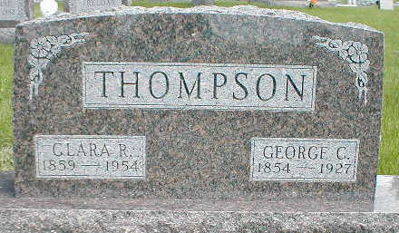 THOMPSON, CLARA R. - Boone County, Iowa | CLARA R. THOMPSON