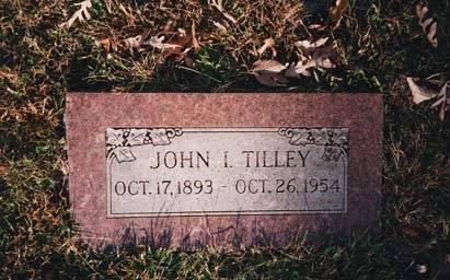TILLEY, JOHN IRA - Boone County, Iowa | JOHN IRA TILLEY