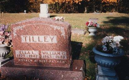 TILLEY, WILLIAM C, ELLA L - Boone County, Iowa | WILLIAM C, ELLA L TILLEY