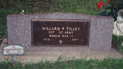TILLEY, WILLARD P - Boone County, Iowa | WILLARD P TILLEY