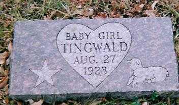 TINGWALD, BABY GIRL - Boone County, Iowa | BABY GIRL TINGWALD