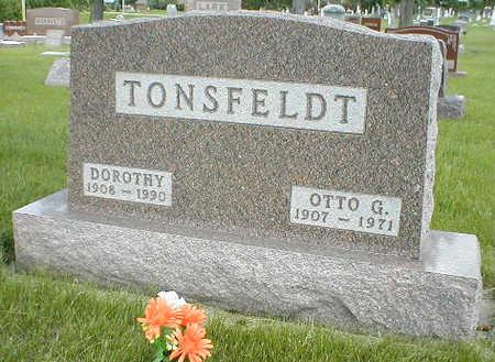 TONSFELDT, DOROTHY - Boone County, Iowa | DOROTHY TONSFELDT
