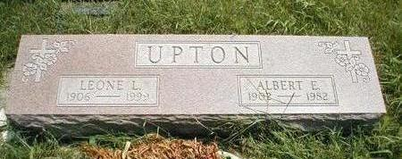 UPTON, ALBERT E. - Boone County, Iowa | ALBERT E. UPTON