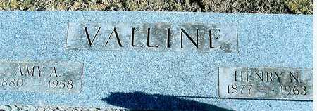 VALLINE, AMY A. - Boone County, Iowa | AMY A. VALLINE