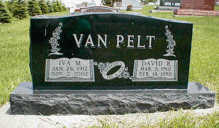 VAN PELT, IVA M. - Boone County, Iowa | IVA M. VAN PELT