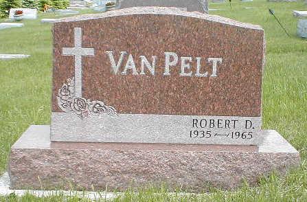 VAN PELT, ROBERT D. - Boone County, Iowa | ROBERT D. VAN PELT