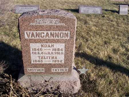 VANCANNON, TALITHA - Boone County, Iowa | TALITHA VANCANNON