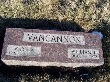 VANCANNON, MARY K. - Boone County, Iowa | MARY K. VANCANNON