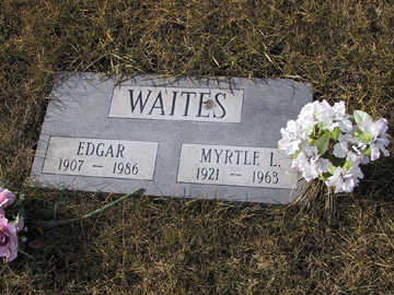 STILES WAITES, MYRTLE L - Boone County, Iowa | MYRTLE L STILES WAITES