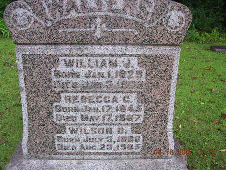 WALTERS, WILLIAM J. - Boone County, Iowa | WILLIAM J. WALTERS
