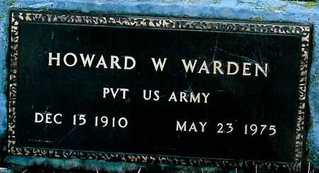 WARDEN, HOWARD W. - Boone County, Iowa | HOWARD W. WARDEN