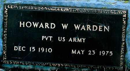 WARDEN, HOWARD W. - Boone County, Iowa | HOWARD W. WARDEN