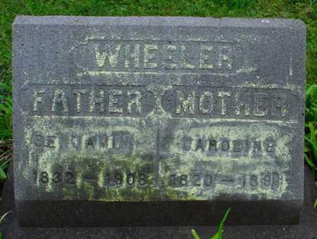 WHEELER, BENJAMIN - Boone County, Iowa | BENJAMIN WHEELER