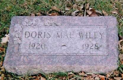 WILEY, DORIS MAE - Boone County, Iowa | DORIS MAE WILEY