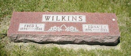 WILKINS, EDNA E. - Boone County, Iowa | EDNA E. WILKINS