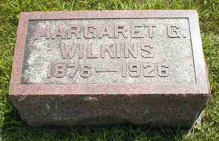 WILKINS, MARGARET G. - Boone County, Iowa | MARGARET G. WILKINS