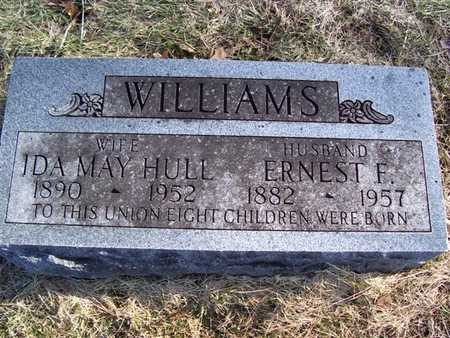 WILLIAMS, ERNEST F. - Boone County, Iowa | ERNEST F. WILLIAMS