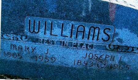 WILLIAMS, MARY J - Boone County, Iowa | MARY J WILLIAMS