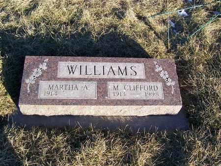 WILLIAMS, M. CLIFFORD - Boone County, Iowa | M. CLIFFORD WILLIAMS