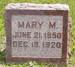 WINGFIELD, MARY M. - Boone County, Iowa | MARY M. WINGFIELD