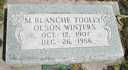 TOOLEY WINTERS, M. BLANCHE - Boone County, Iowa | M. BLANCHE TOOLEY WINTERS