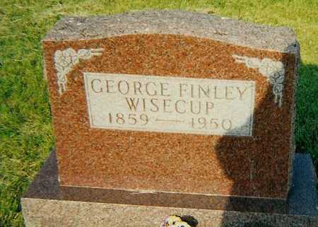 WISECUP, GEORGE FINLEY - Boone County, Iowa | GEORGE FINLEY WISECUP