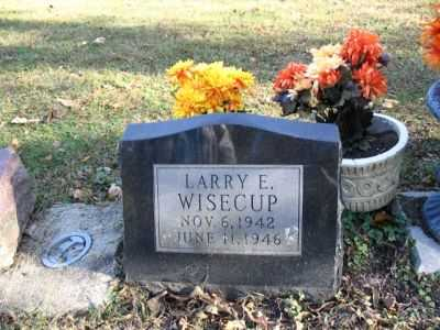 WISECUP, LARRY E. - Boone County, Iowa | LARRY E. WISECUP