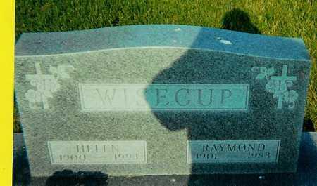 WISECUP, RAYMOND - Boone County, Iowa | RAYMOND WISECUP