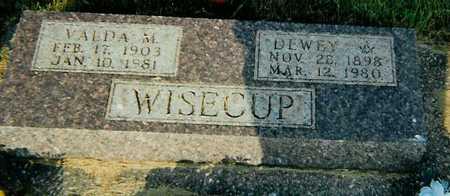 WISECUP, DEWEY - Boone County, Iowa | DEWEY WISECUP