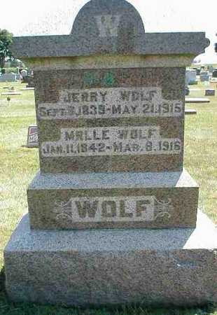 WOLF, JERRY - Boone County, Iowa | JERRY WOLF
