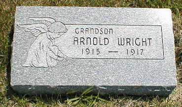 WRIGHT, ARNOLD - Boone County, Iowa   ARNOLD WRIGHT