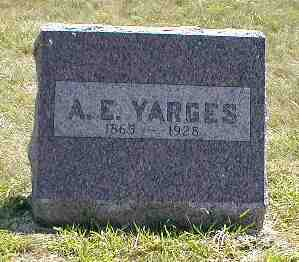 YARGES, A.E. - Boone County, Iowa | A.E. YARGES