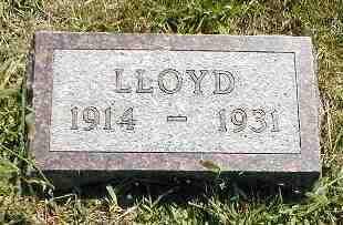 YARGES, LLOYD - Boone County, Iowa | LLOYD YARGES