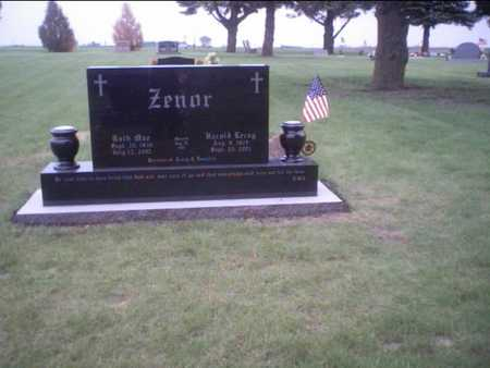 ZENOR, HAROLD - Boone County, Iowa | HAROLD ZENOR