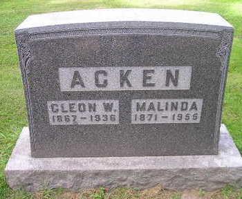 ACKEN, MALINDA - Bremer County, Iowa | MALINDA ACKEN