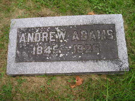 ADAMS, ANDREW - Bremer County, Iowa | ANDREW ADAMS