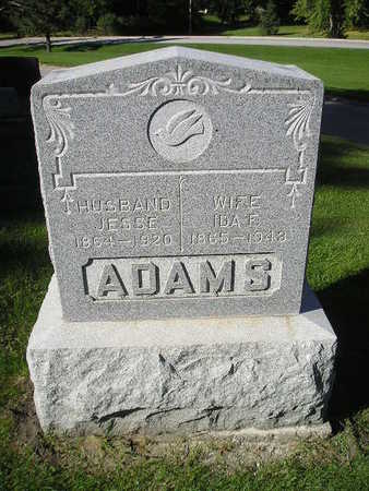 ADAMS, JESSE - Bremer County, Iowa | JESSE ADAMS