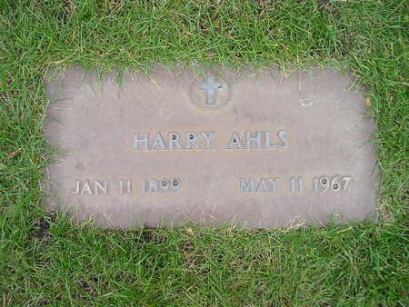 AHLS, HARRY - Bremer County, Iowa | HARRY AHLS
