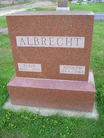 ALBRECHT, ELSIE - Bremer County, Iowa | ELSIE ALBRECHT