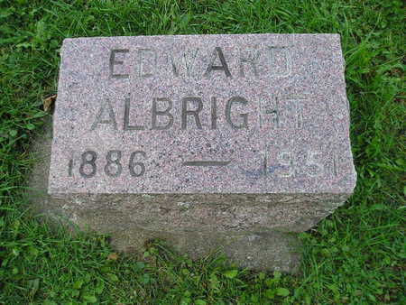 ALBRIGHT, EDWARD - Bremer County, Iowa | EDWARD ALBRIGHT