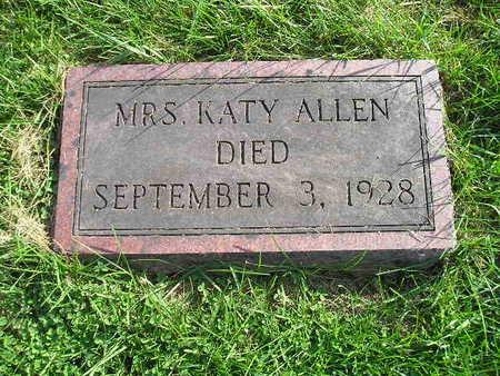 ALLEN, KATY - Bremer County, Iowa | KATY ALLEN