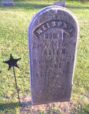 ALLEN, NELSON J. - Bremer County, Iowa | NELSON J. ALLEN