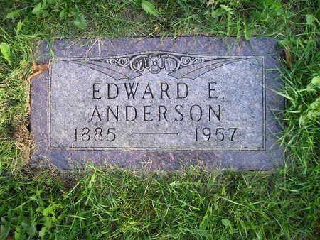 ANDERSON, EDWARD E - Bremer County, Iowa | EDWARD E ANDERSON