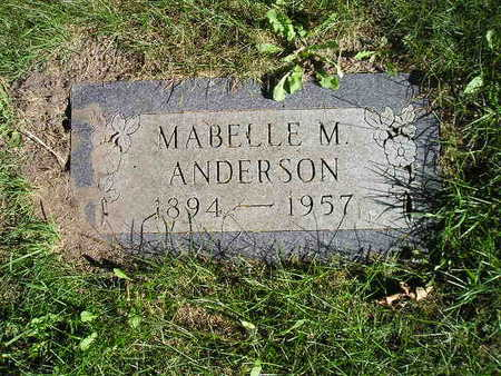 ANDERSON, MABELLE M - Bremer County, Iowa | MABELLE M ANDERSON